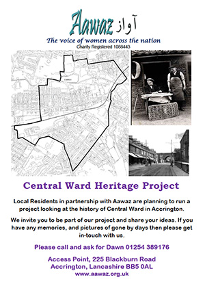 Central Ward Heritage Project Poster