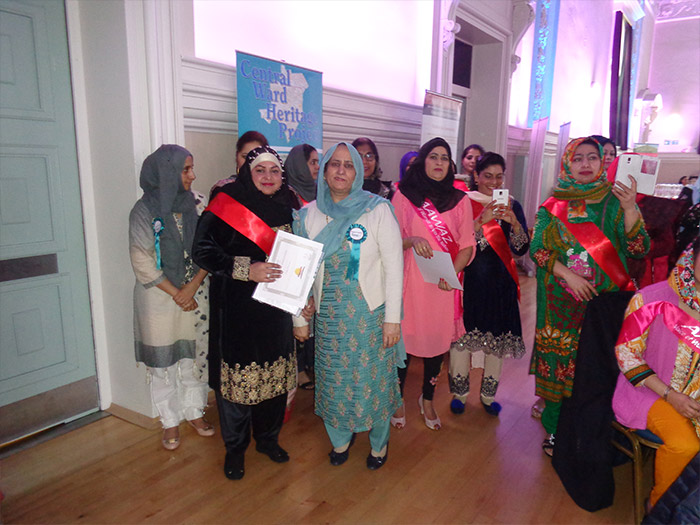 Aawaz members waiting to welcome guest at Aawaz Annual Celebration Event